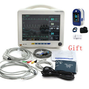 Usa Medical Lcd 6 Parameters Icu Ccu Patient Monitor Medical Use Fda Ce W Gift