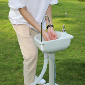 Eco friendly Portable Hand Washing Sink Faucet Station With 24l Recover