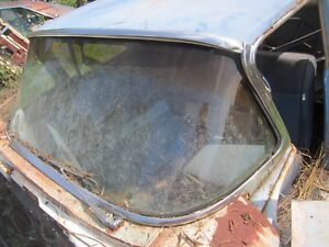 1959 Edsel Ranger 4 Door Front Windshield Exterior Outside Trim Molding