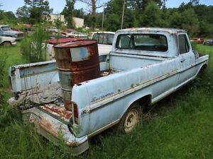 67 72 Ford F100 Truck Right Passenger Steering Spindle Knuckle Bare 68 69 70 71