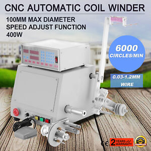 10v Cnc Automatic Coil Winder Winding Machine