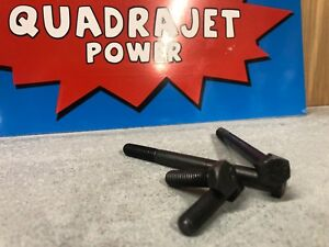 Quadrajet Mounting Hold Down Bolts 65 89 Gm Rochester Qjet Correct Length Color