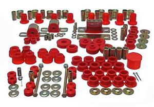 Energy Complete Hyper Flex 63 82 C2 C3 Chevy Corvette Master Body Bushing red
