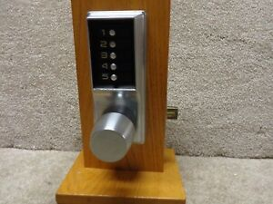 Kaba Simplex Ilco Unican 1000 1031 Pushbutton Lock With Passage Function