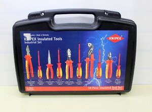 Insulated Tool Set 10 Pc Knipex 98 98 30 Us