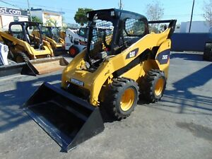 2011 Cat 262c Turbo big 84 Hp New Tires New Bucket Self Leveling Option