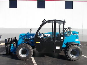 New Genie Gth 5519 Telehandler Telescopic Forklift 5500lb Lift 19ft Reach