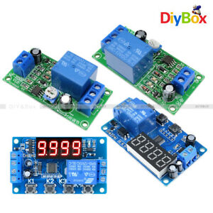 Led 3 4 digital Dc 12v Trigger Cycle Control Automation Delay Timer Relay Module