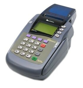 Verifone Omni 3200 Se Credit Card Terminal Printer