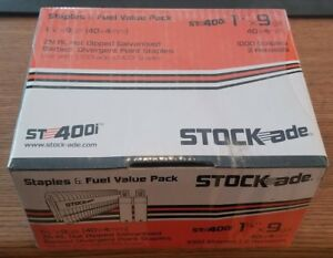 Stock ade St 400i Cordless Staples 1 1 2 Box Of 1000 W 2 Fuel Cells