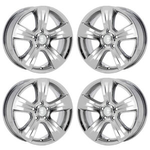 17 Jeep Compass Patriot Pvd Chrome Wheels Rims Factory Oem 2380 Exchange