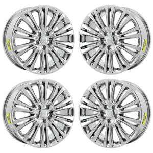 17 Chrysler 300 Awd Pvd Chrome Wheels Rims Factory Oem 2419 Exchange