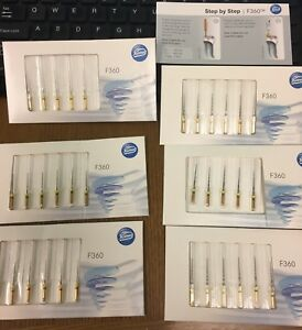 Assorted Komet F360 Rotary Dental Endodontic Files