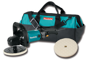 Makita 9237cx2 7in Variable Speed Sander Polisher Kit With Tool Bag