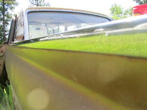 1961 Galaxie Upper Quarter Trim Molding Left Rear 4 Door