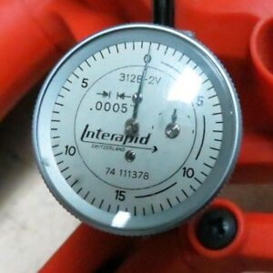 Interapid Dial 312b 2v X 0005 Test Indicator Right Angle