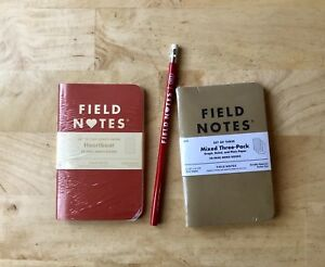 Field Notes Heartbeat Ed Sold Out bundle