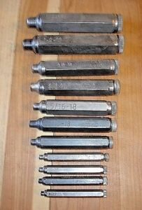 Nice Heimann Transfer Screw Sets 11 Sets Machinist Tool Die Maker Tools Usa
