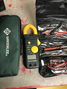 Greenlee Cm 600 Clamp On Meter Free Shipping