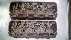 Pair Of Chevy Big Block Heads Oval Port 396 427 454 3964290