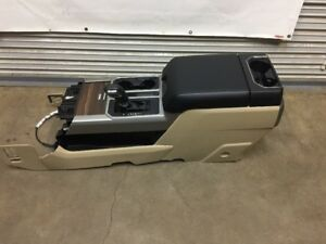 Ford F150 F250 F350 Oem Center Console With Floor Shifter 2015 2016 2017 2018