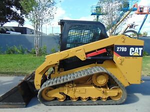 2014 Cat 279 d Turbo 2 Speed Power Coupler Self Leveling Air Conditioned