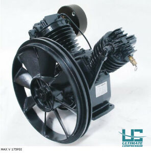 Air Compressor Pump 7 5hp Cast Iron Pump Heavy Duty