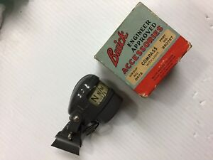 Rare Nos 1939 1949 Buick Roadmaster Super dinsmore Compass Dealer Accessory