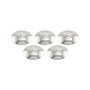 Model A Ford Hub Cap Set 5 Pieces Stainless Steel Ford Script Fits 3 3 4