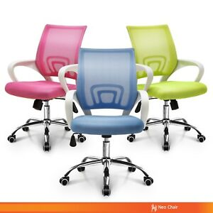 Fashionable Home Office Conference Room Mesh Desk Chair latex Seat Option