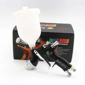 Devilbiss Te20 Gti Pro Lite Black Spray Gun Professional Paint Gun 1 3mm Nozzle