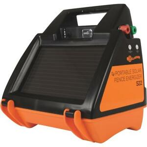 Gallagher S22 Solar Electric Fence Charger 1 Each
