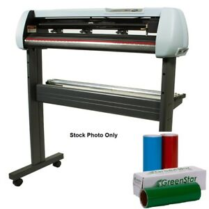 Vinyl Cutter Uscutter Sc 34 inch Create Your Own Vinal Window Or Wall Signs