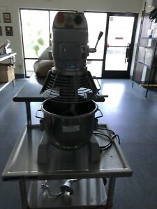 20 Quart Commercial Mixer By Spar Model 200 With Table Excellent Condition