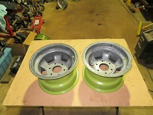 Vintage Nostalgic Halibrand Sprint Car Magnesium Wheels 13x8 6 Pin