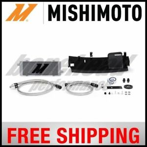 Engine Oil Cooler Mishimoto Mmoc Rs 16bk Fits 16 17 Ford Focus 2 3l L4