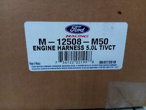 Ford Performance 2011 2014 Mustang 5 0 Coyote Engine Wiring Harness M 12508 M50