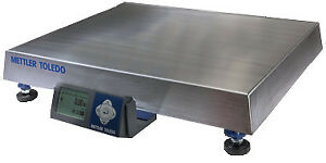 Mettler Toledo Bc150 Shipping Scale 300 X 05 Lb ss Platter bca 223 150 1106 110