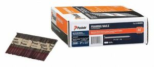 Paslode Framing Nail 3 Pk2500 Brite Us32 11 Ga Gauge Low Carbon Steel