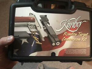 Kimber 1911 22lr Conversion Kit and 2-10 Round Magazine for 1911 (Silver)