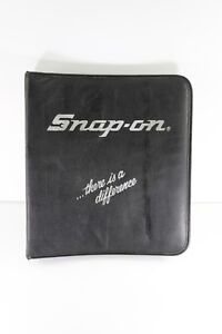 Vintage Snap On Tools Electronic Pliers Storage Case Snap on