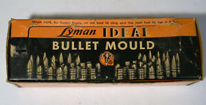LYMAN IDEAL ONE SET BULLET MOULD BLOCKS 450-225 WITH HANDLES IN BOX