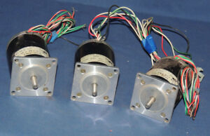 lot Of 3 Applied Motion Products 5023 024d Stepper Motors