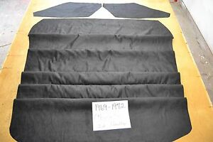 1969 69 1970 70 1971 71 1972 72 Chevelle Black Suede Look Custom Headliner Usa