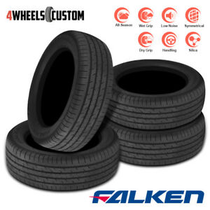 4 X New Falken Sincera Sn250 195 65r15 91h All Season Performance Touring Tires