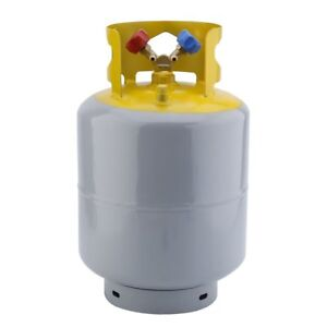 Refrigerant Recovery Reclaim Cylinder Tank 50lb Pound 400 Psi New Bp