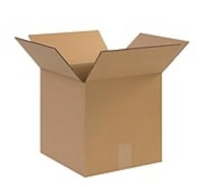 Sh 3 Day75 12x12x12 Cardboard Shipping Boxes Cartons Packing Moving Mailing Box