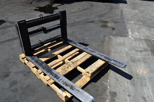 Rightline Hydraulic 54 Fork Positioner Attachment 10000 Lb Forklift Class 3