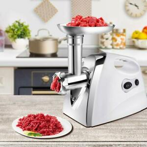 2500w Electric 2 Speed Meat Grinder Mincing Machine Sausage Stuffer Set Bt