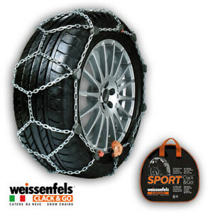 Snow Chains Weissenfels Rcs Sport Clack go Gr 65 12mm 225 50 R17 225 50 17